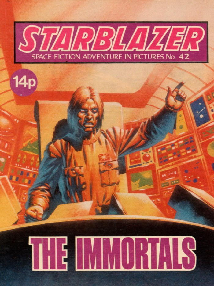 Starblazer 42 - The Immortals