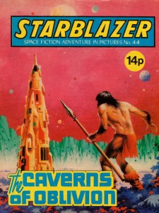 Starblazer 44 - The Caverns of Oblivion