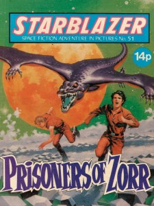 Starblazer 51 - The Prisoners of Zorr