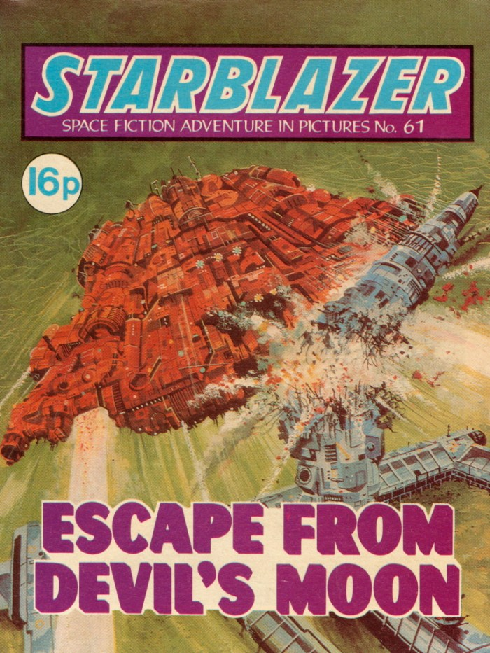Starblazer 61: Escape from Devil's Moon