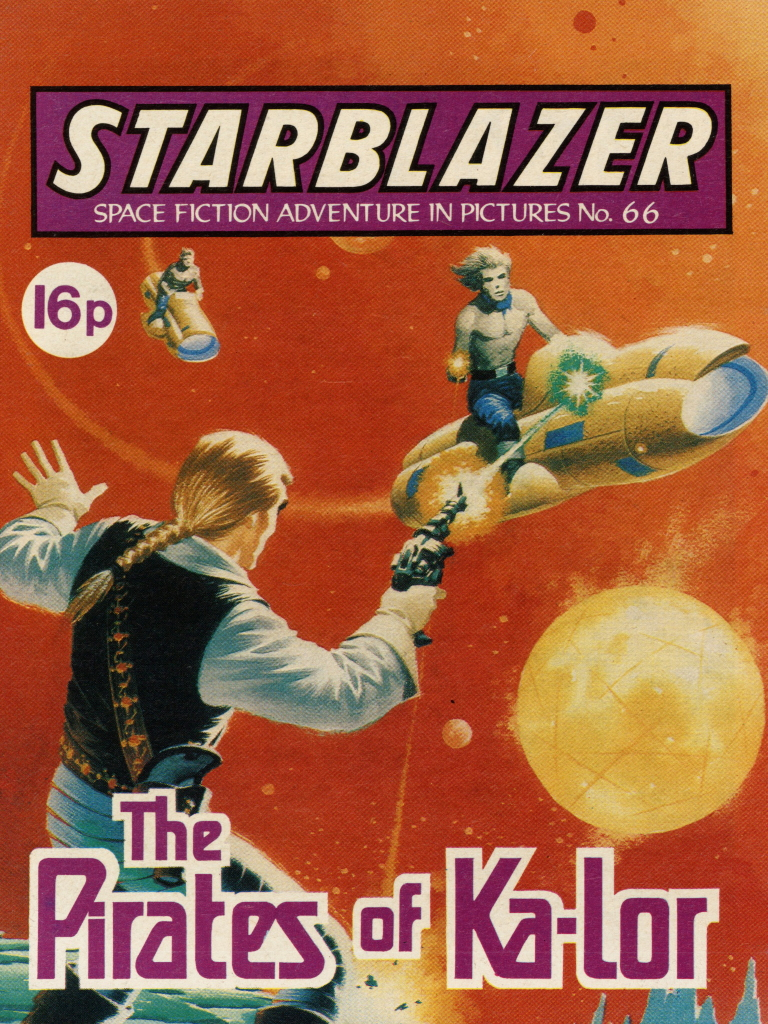 Starblazer 66: The Pirates of Ka-Lor