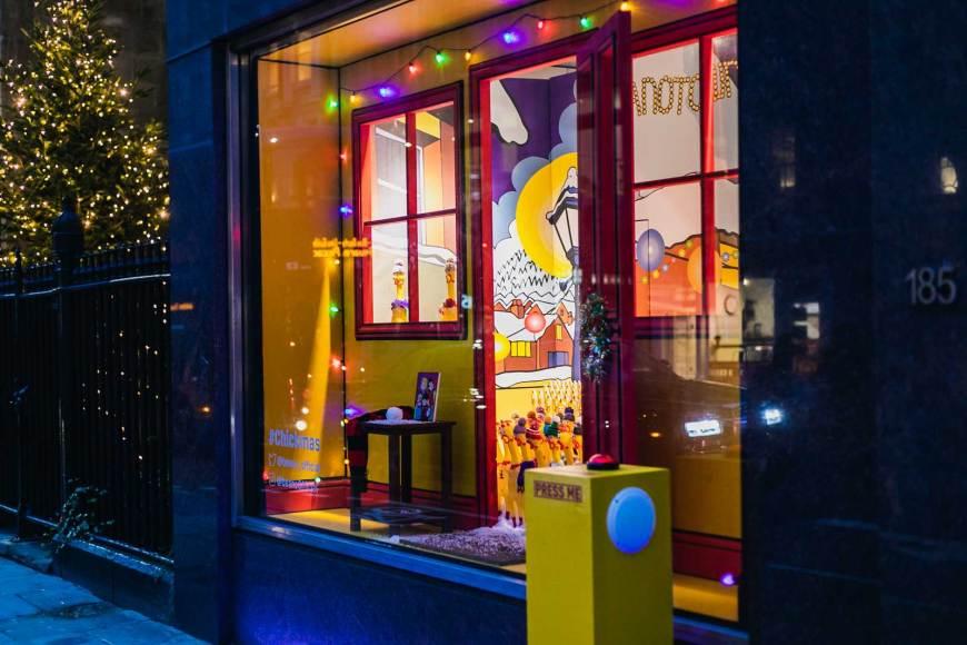 "Beano Studios ""Rubber Chicken"" #Chickmas Window 2018"