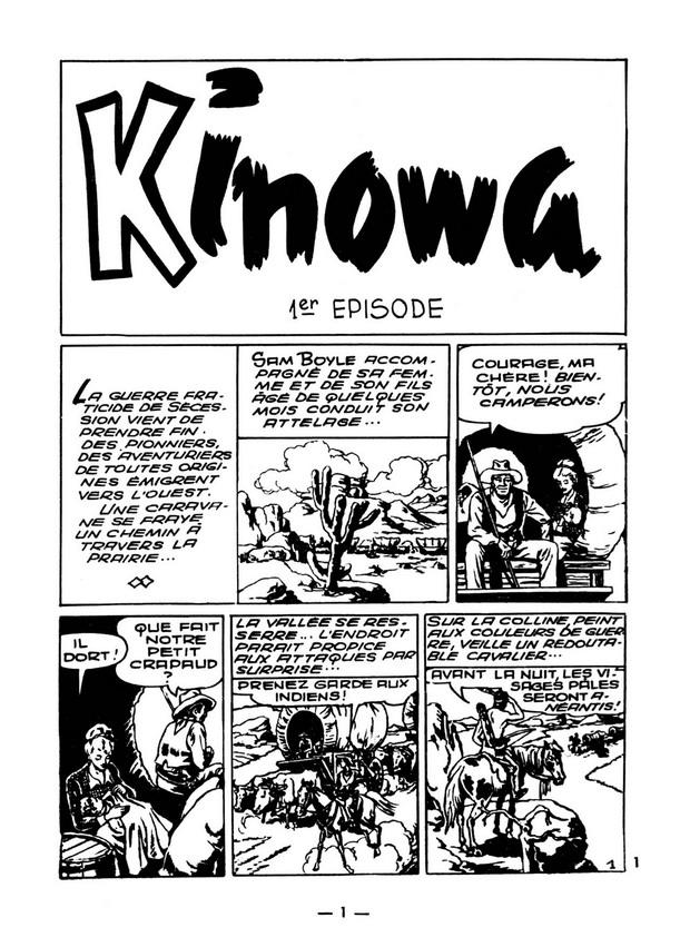 Dan Dair Issue 1 - Kinowa Page 1