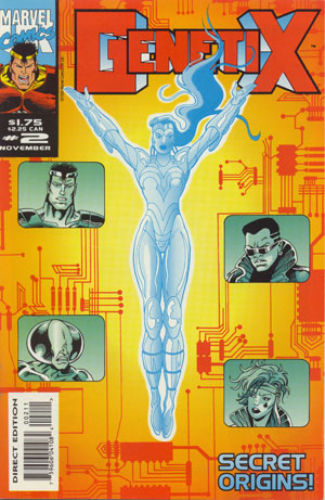 Genetix - a series Phil Gascoine worked on published by Marvel UK by Dan Abnett and Andy Lanning