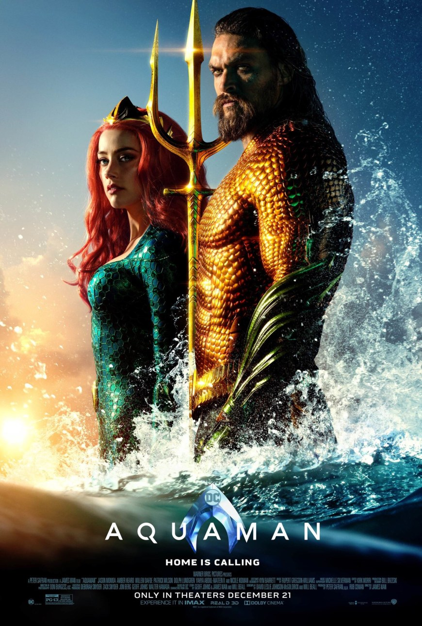 Aquaman Film Poster 2018