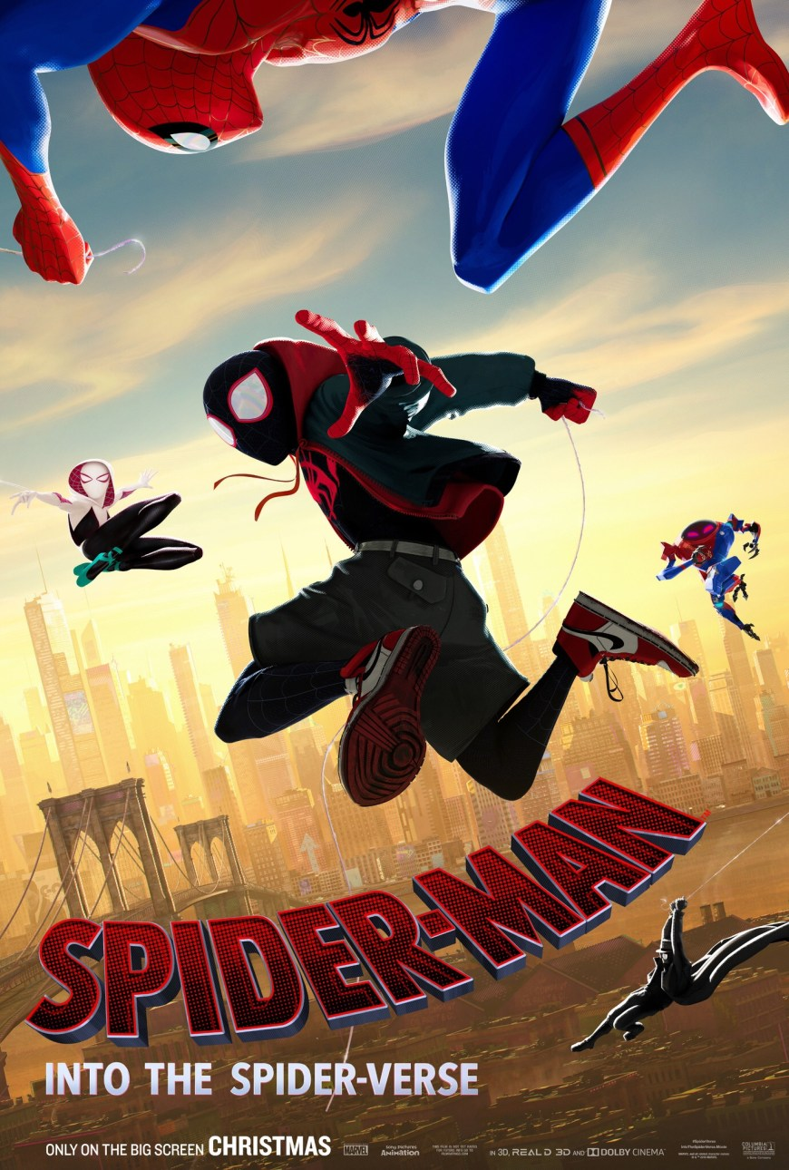 Spider-Man: Into the Spider-verse - Poster