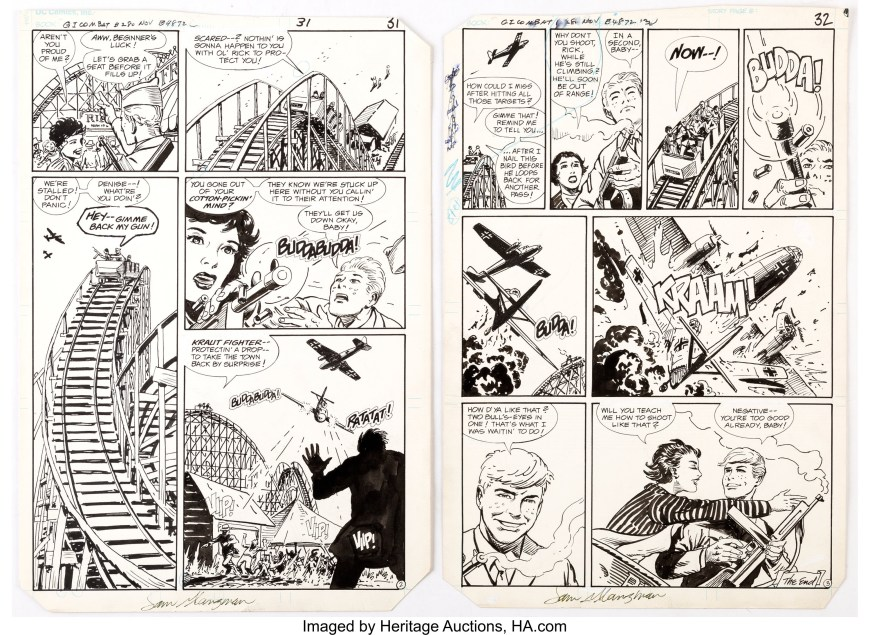 """G.I. Combat #280: """"Prize Shot"""", published by DC Comics in 1985"""