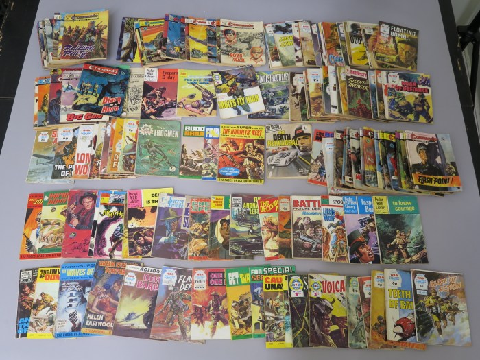 Astons Auctioneers - January 2019 - Pocket Library Comics