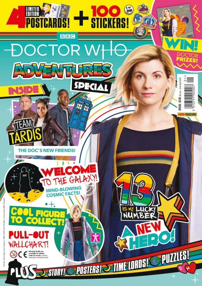 Doctor Who Adventures Special 2019 - Cover