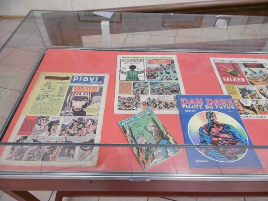 Overseas versions of Dan Dare
