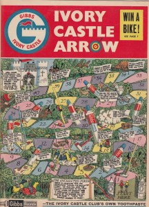 Gibbs Ivory Castle Arrow Issue 1