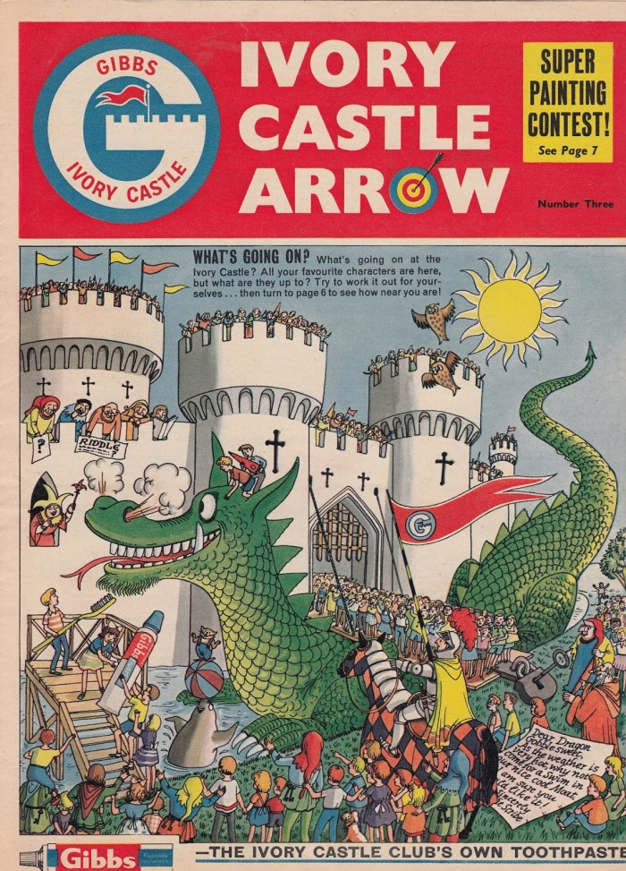 Gibbs Ivory Castle Arrow Issue 3