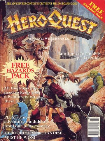 Marvel UK's Heroquest - Cover