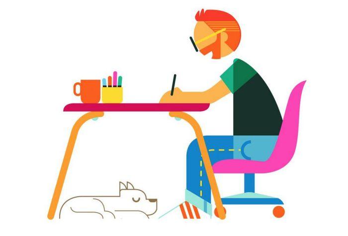 Illustrator's Survey Promo Art by Ben O'Brien
