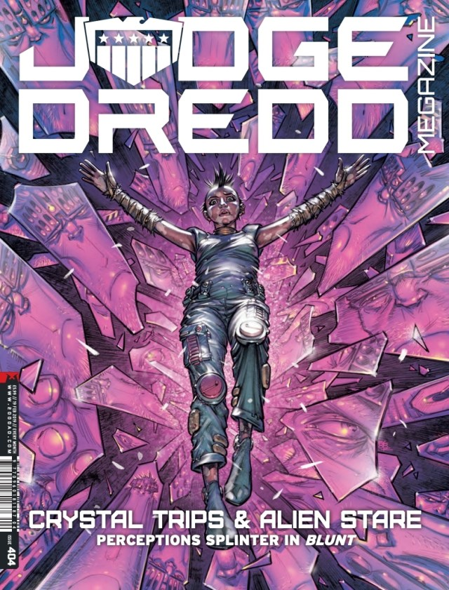 Judge Dredd Megazine 404 - Cover