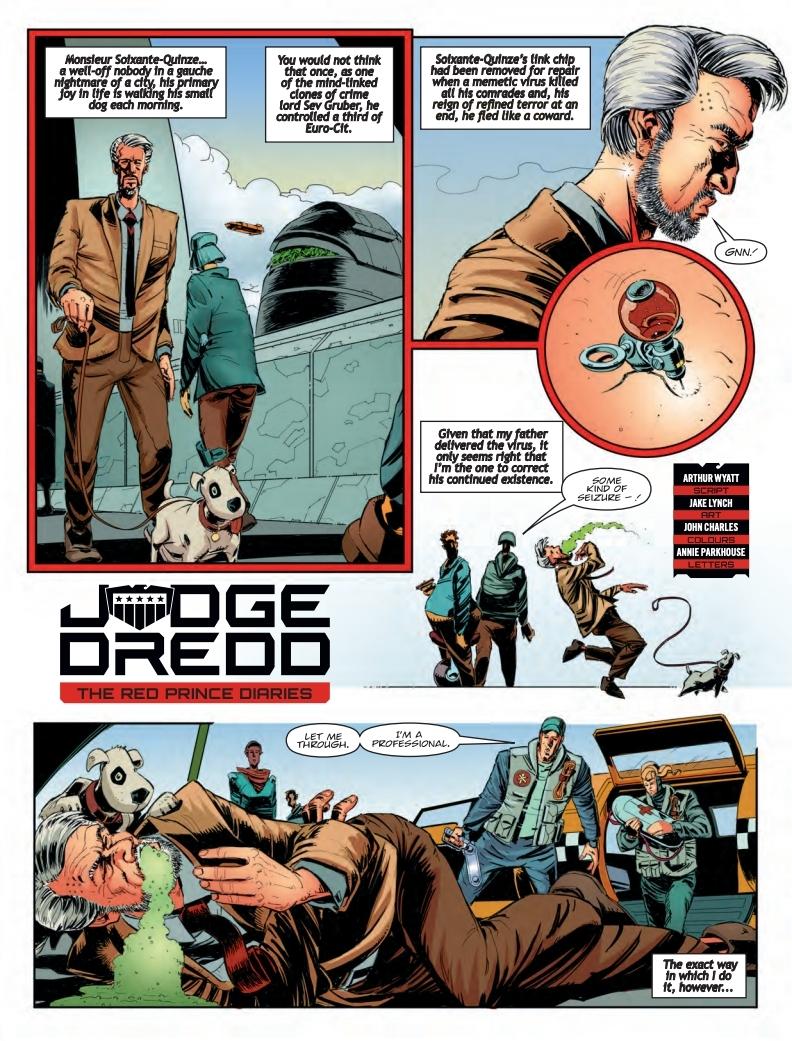 Judge Dredd Megazine 404 -  Judge Dredd
