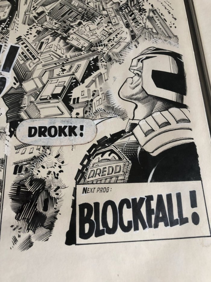 Judge Dredd - Drokk! by Ron Smith