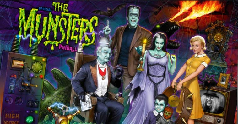 Munsters - Stern Pinball