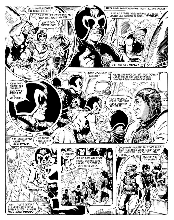 2000AD - Judge Dredd - The Day the Law Died - art by Ron Smith © Rebellion Publishing Ltd