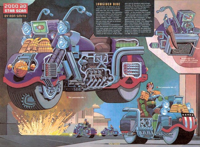 2000AD Star Scan by Ron Smith