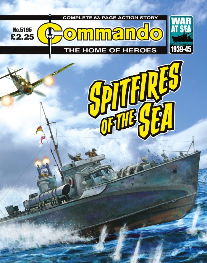Commando 5195: Home of Heroes: Spitfires of the Sea