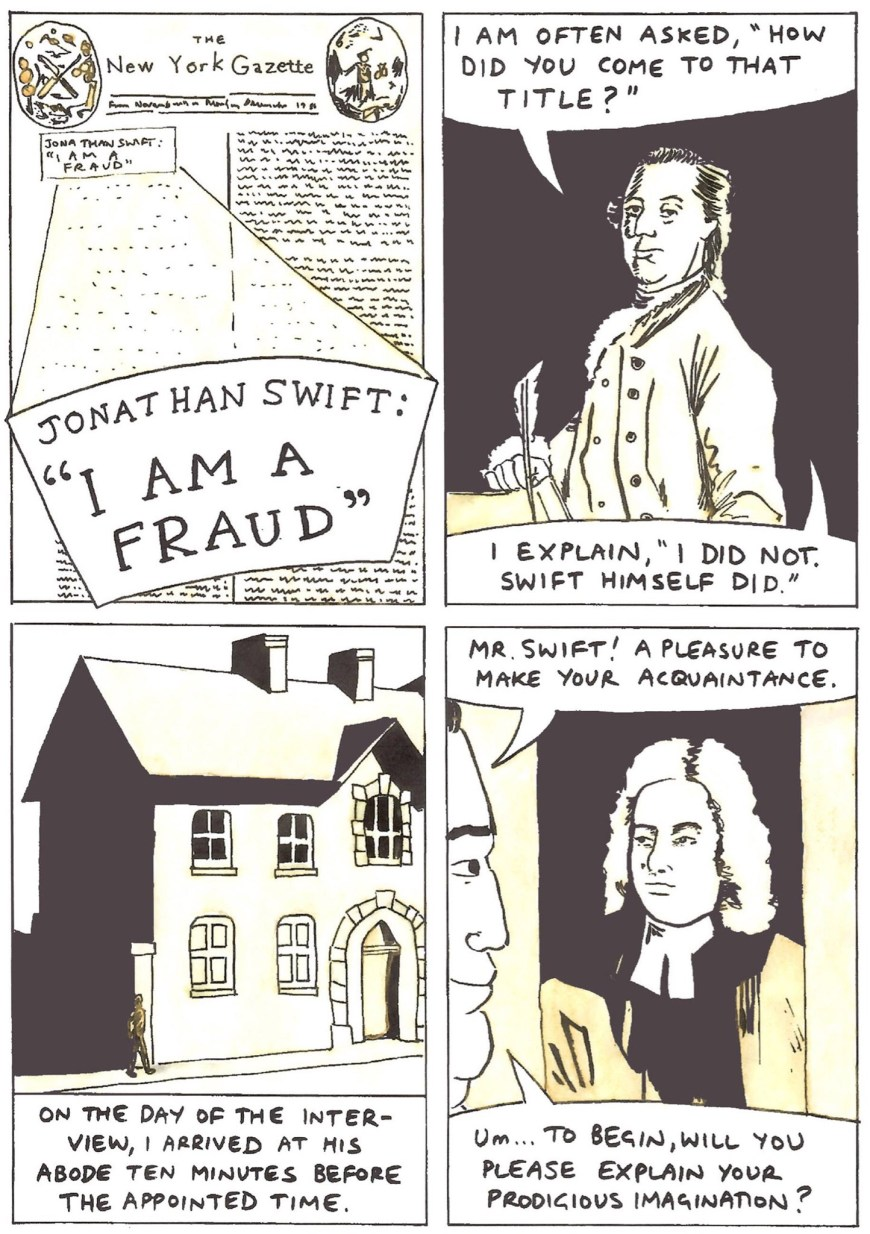 Jonathan Swift: I am a Fraud