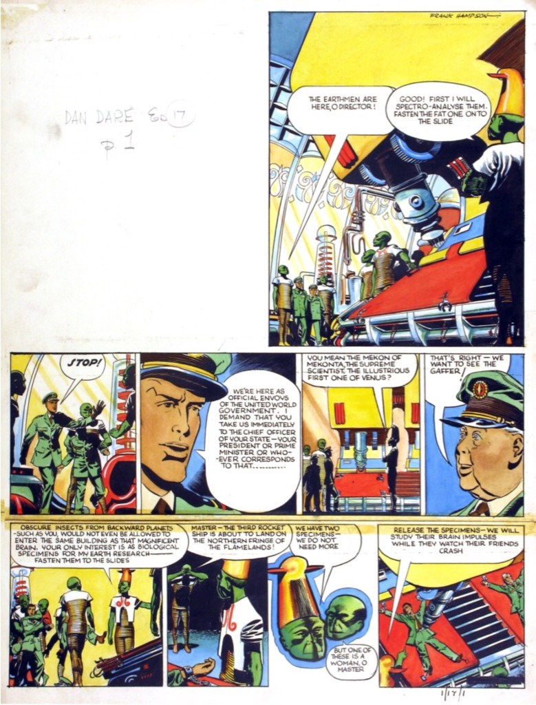 """Dan Dare"" for Eagle Volume One, Issue 17"