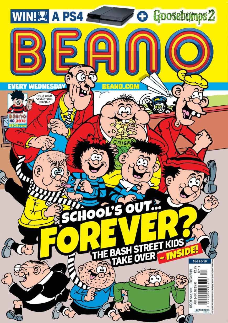 British News Stand Comics And Magazines For Teens, Pre