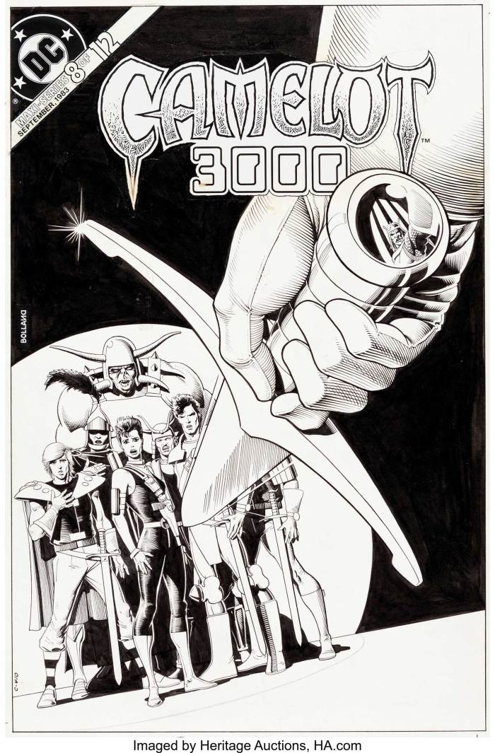 Camelot 3000 #8 by Brian Bolland
