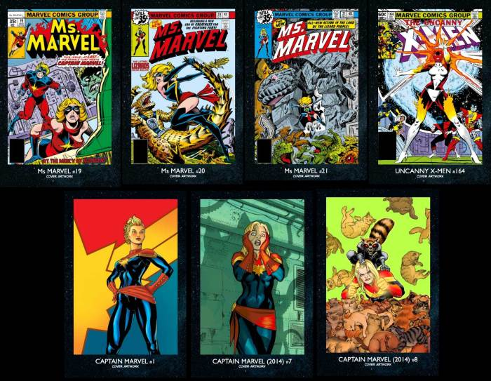 Essential Guide to Captain Marvel - Reprint Gallery