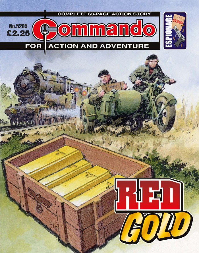 Commando 5205: Action and Adventure - Red Gold