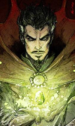 Doctor Strange by Abigail Harding