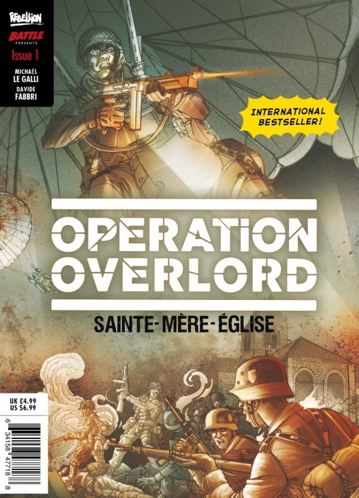 Operation: Overlord #1 - Direct Sales Cover