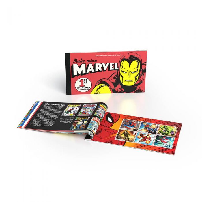 Royal Mail 2019 - Marvel Special Issue Stamps