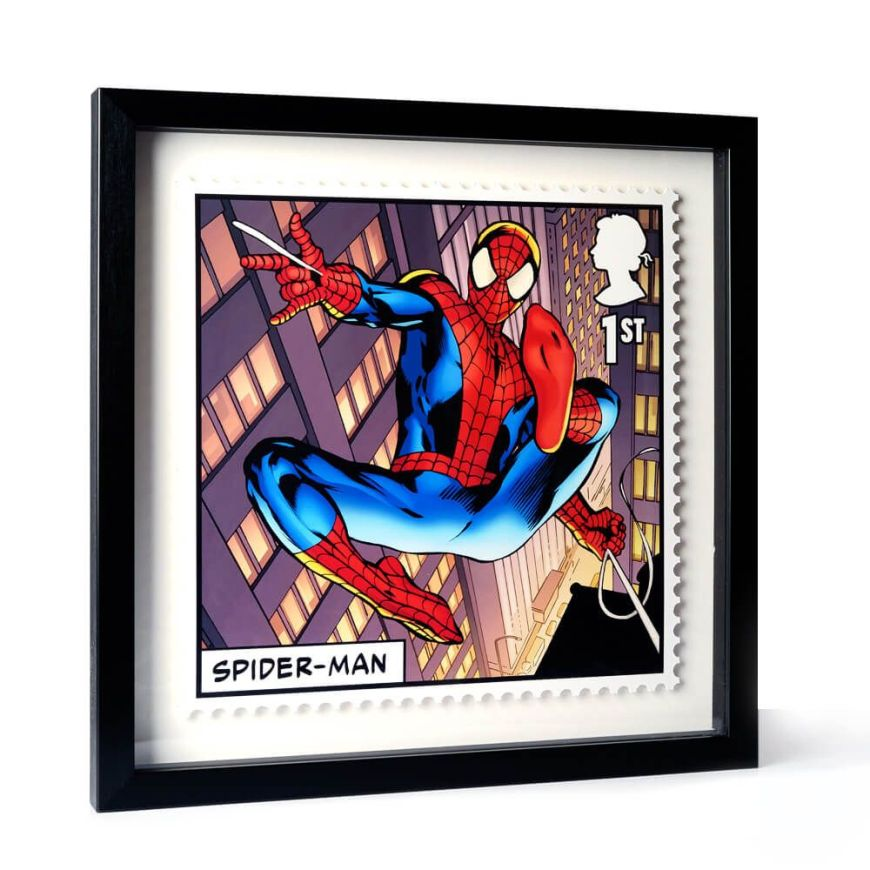 Royal Mail 2019 - Marvel Special Issue Stamps - Spider-Man Framed Print