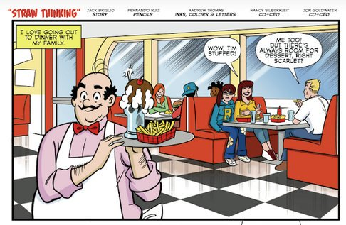 Archie Comics - Straw Thinking