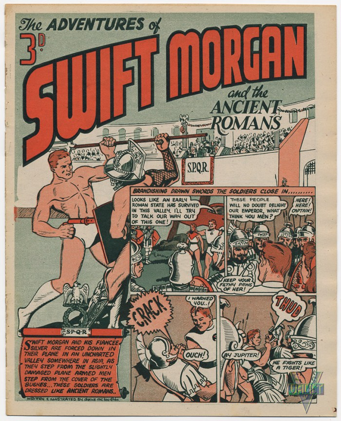 SwiftMorgan and the Ancient Romans