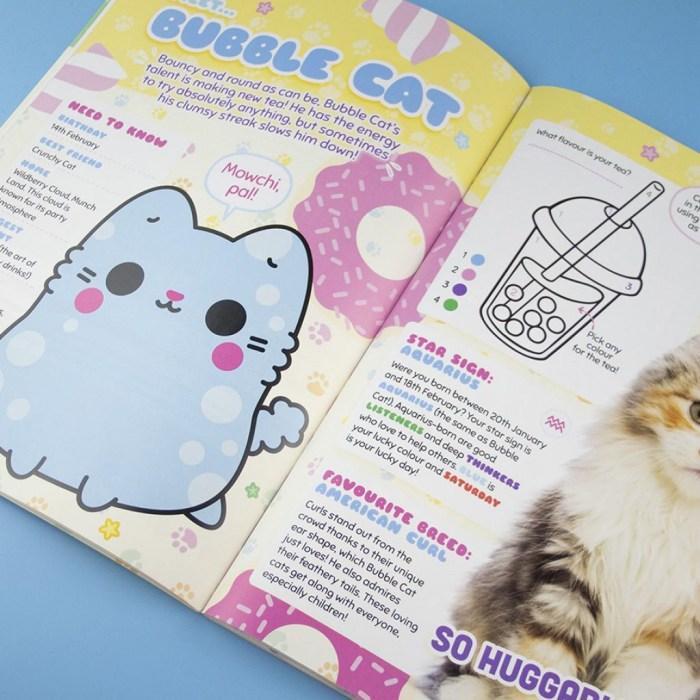 Munch Cats! Sample Spread