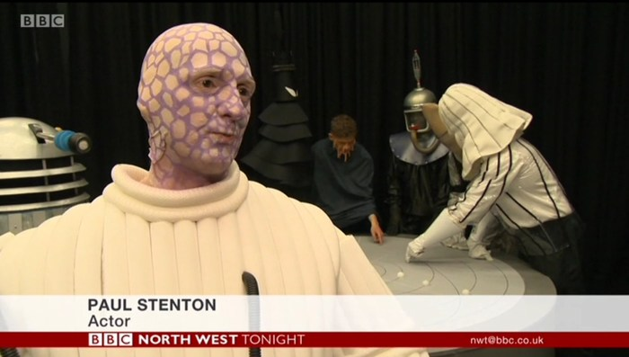 UCLan recreate Doctor Who - Mission to the Unknown - actor Paul Stenton
