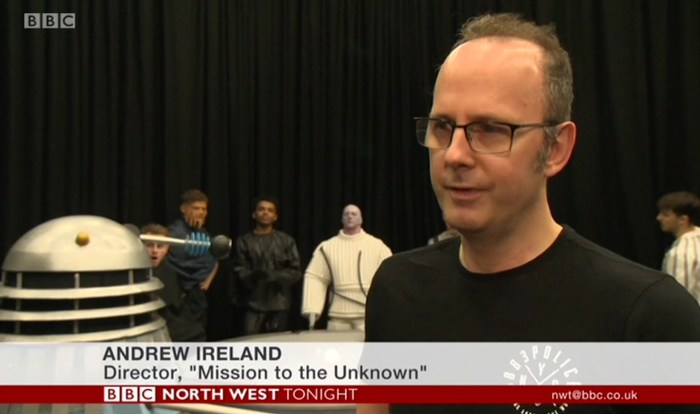UCLan recreate Doctor Who - Mission to the Unknown Dr Andrew Ireland
