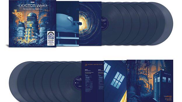 The Daleks's Master Plan - Vinyl Release