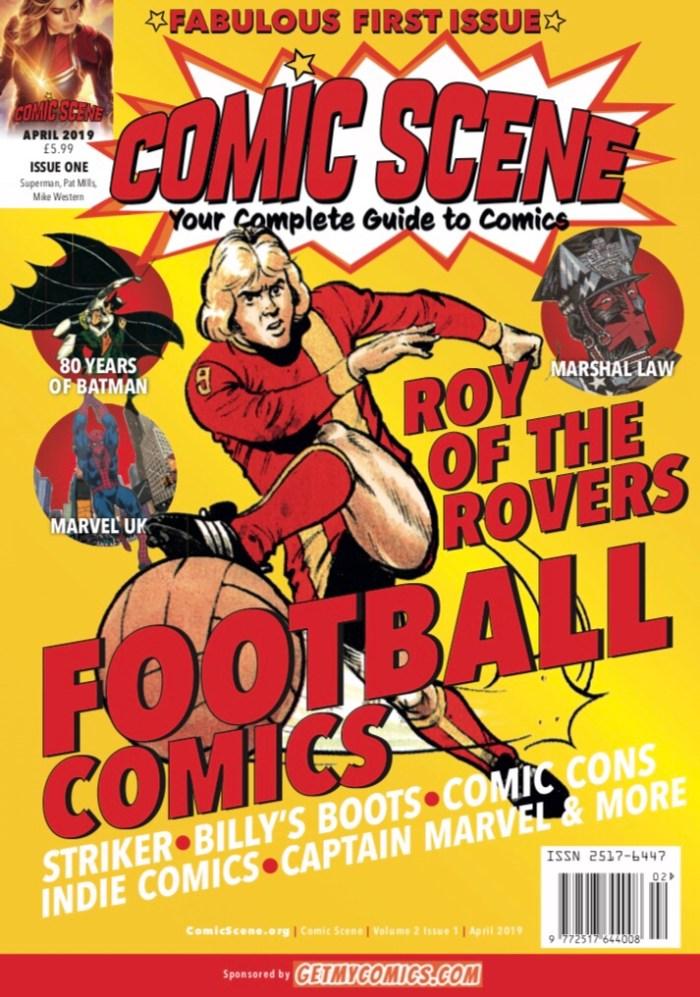 Comic Scene #1 - Cover
