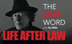 "Comic Scene #1 Pat Mills ""The Last Word"": Life after Law"
