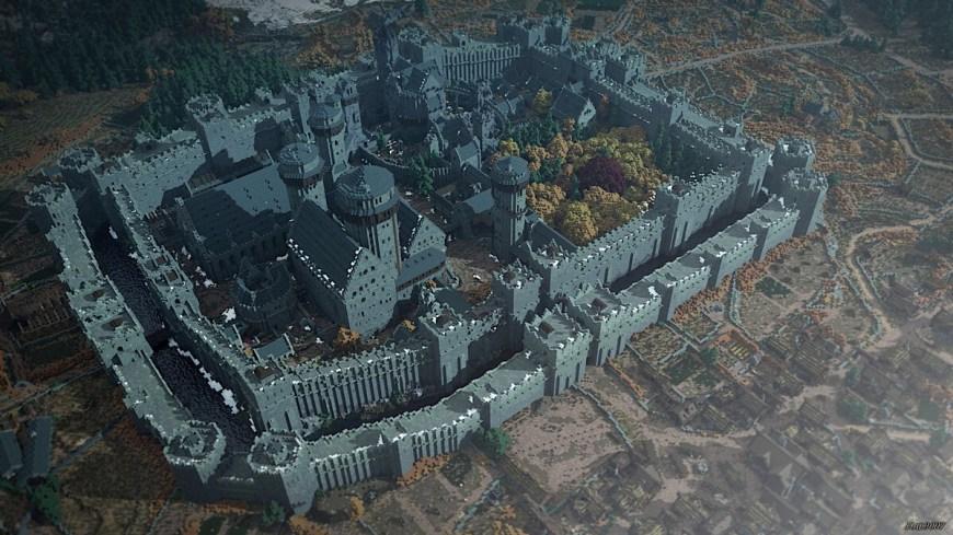 Winterfell, Westeroscraft - © Minecraft