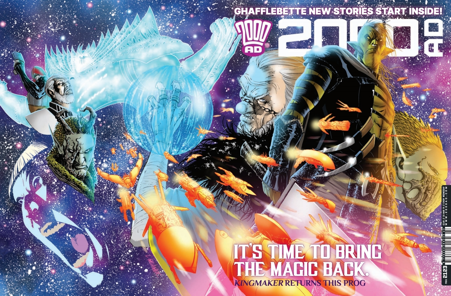 Jump on Board: Latest 2000AD offers all-new Thrills