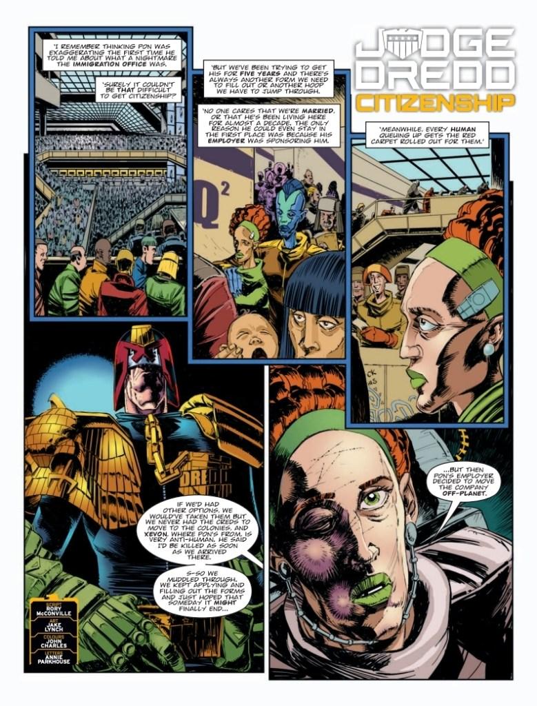 2000AD 2123 - Judge Dredd