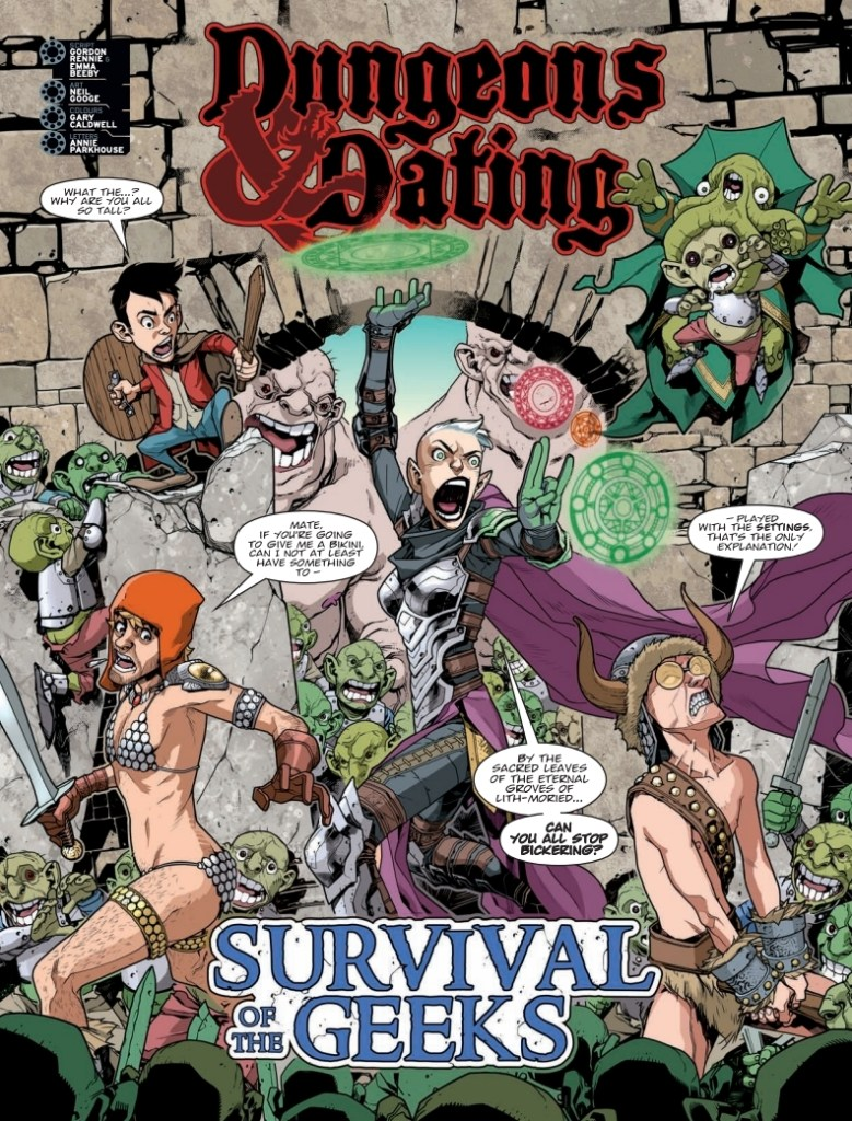 2000AD 2123 - Survival Geeks
