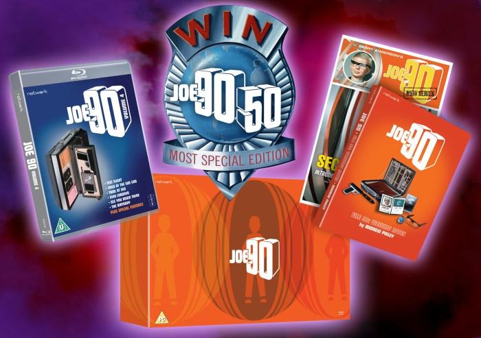 Joe 90 Volume 4 Blu-Ray Packshot