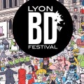 14th Lyon BD Festival poster by Luke McGarry SNIP