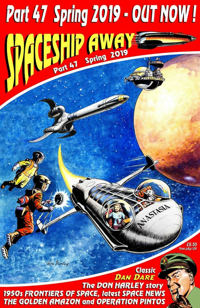 Spaceship Away Issue 47 - Cover